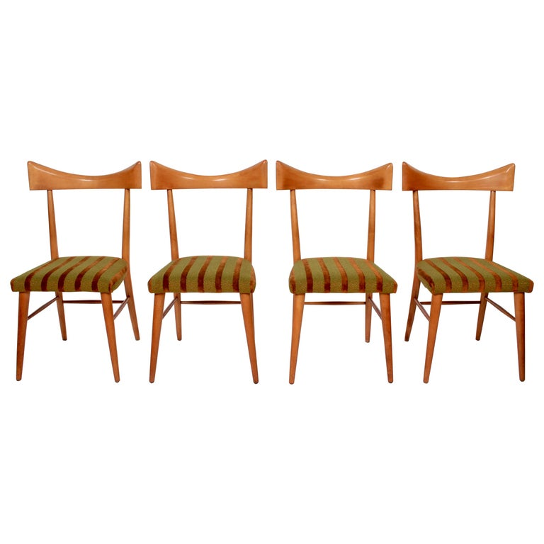Set of Four Paul McCobb Planner Group Dining Chairs, 1950s For Sale