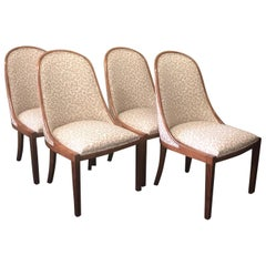 "Set of Four ""Plante"" Dining Chairs by Dessin Fournir"