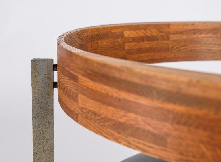 Set of Four Poul Kjærholm for E. Kold Christiansen PK11 Dining Chairs For Sale 4