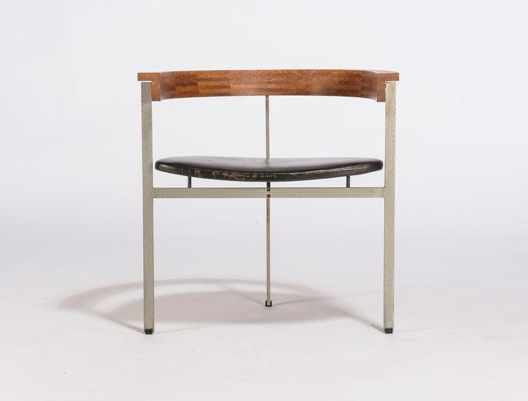 Danish Set of Four Poul Kjærholm for E. Kold Christiansen PK11 Dining Chairs For Sale