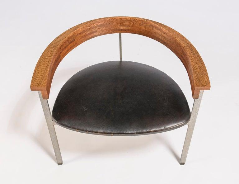 Set of Four Poul Kjærholm for E. Kold Christiansen PK11 Dining Chairs For Sale 1