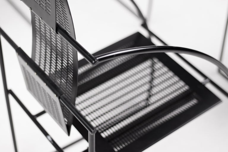 Modern Set of Four Quinta Chairs by Mario Botta For Sale