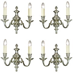 Set of Four Regency Style Wall Lights