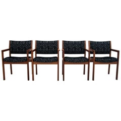 Set of 4 Retro Armchairs, Danish Design, 1960s