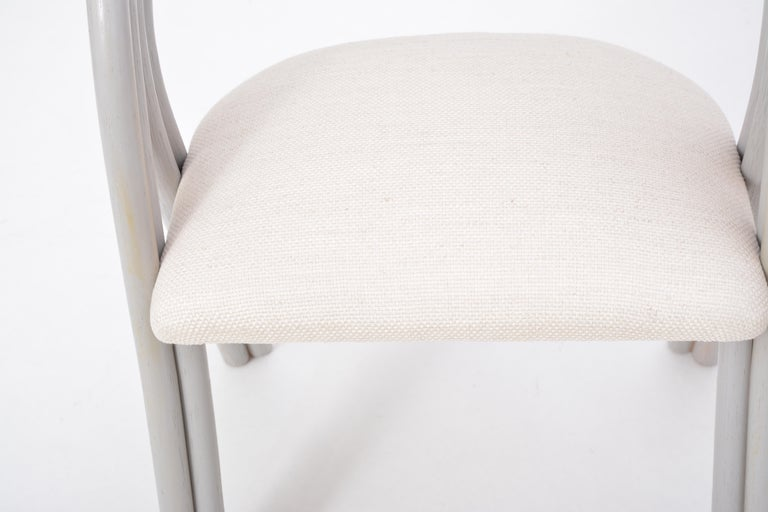 Set of Four Reupholstered Dutch Dining Chairs by Axel Enthoven for Rohé 10