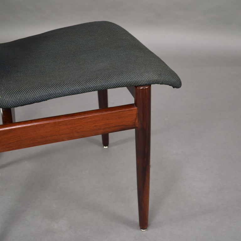 Set of Four Rosewood Dining Chairs by Inger Klingenberg for Fristho, circa 1960 For Sale 4