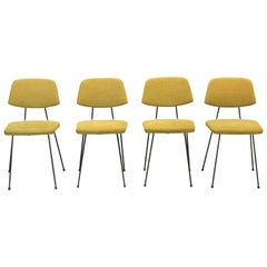Set of Four Rudolf Wolf for Elsrijk Design Chairs