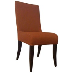 Set of Four Rust Isis Dining Chairs