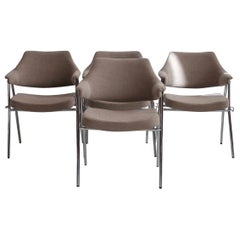 Set of Four S636 Chairs by Hanno von Gustedt for Thonet