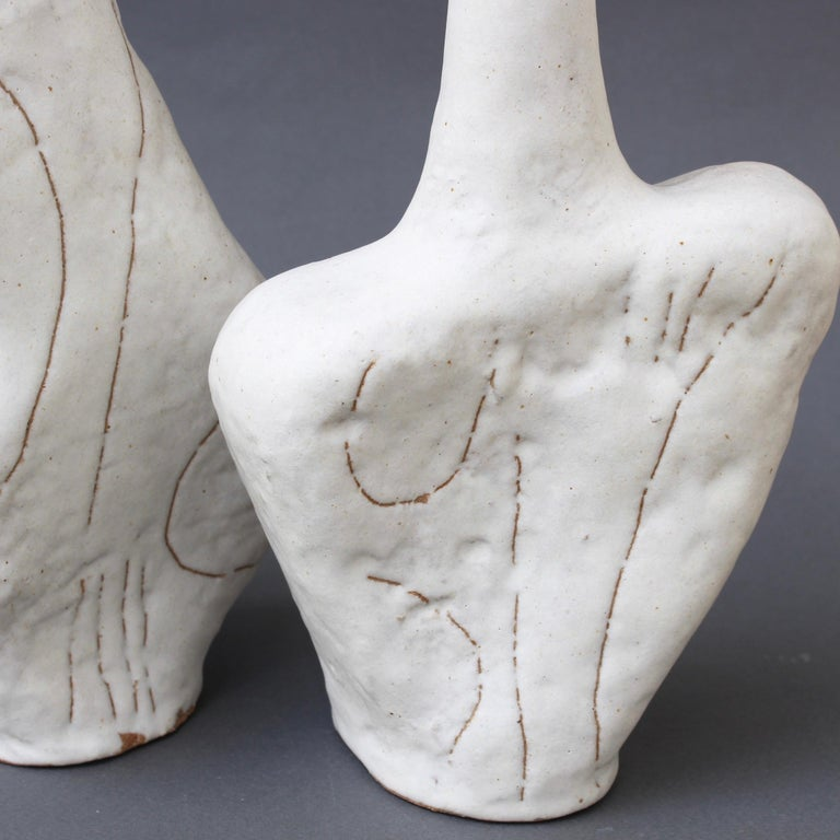 Set of Four Sassi 'Grès' Vases by Bruno Gambone, circa 1980s For Sale 7