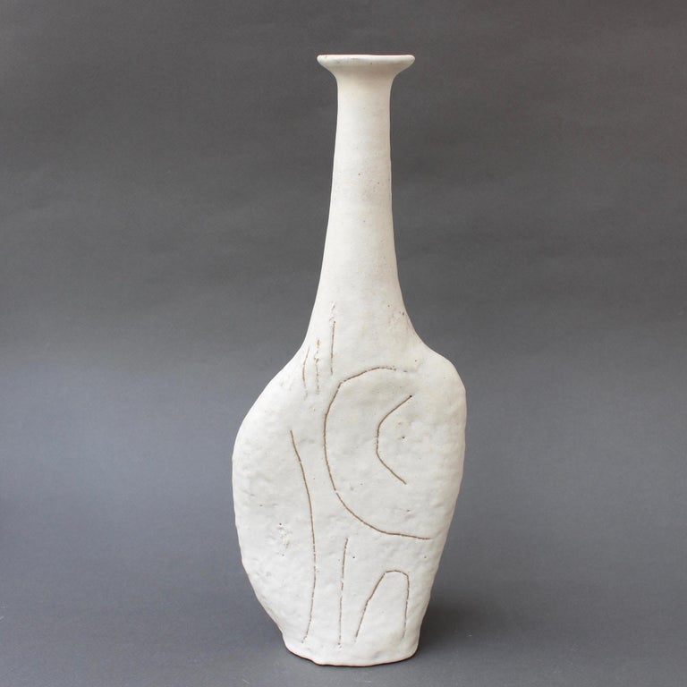 Ceramic Set of Four Sassi 'Grès' Vases by Bruno Gambone, circa 1980s For Sale