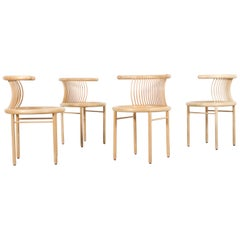 Set of Four Sculptural 'Circo' Dining Chairs by Herbert Ohl