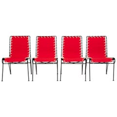 Set of Four Side Chairs by Pipsan Saarinen Swanson for Ficks Reed
