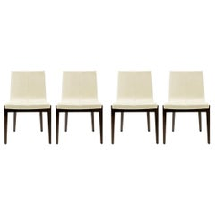 Set of Four Siren Dining Side Chairs by Holly Hunt