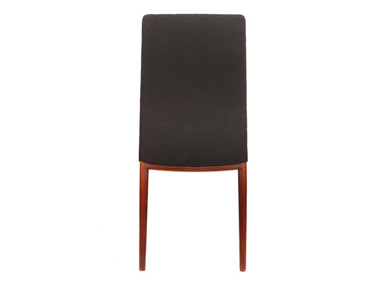 Mid-20th Century Set of Four Slender Chairs by Vestergaard Jensen For Sale