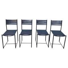 """Set of Four """"Spaghetti"""" Chairs by Giandomenico Belotti for Alias"""