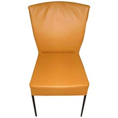 Montis Set of Four Spica Chairs in Leather