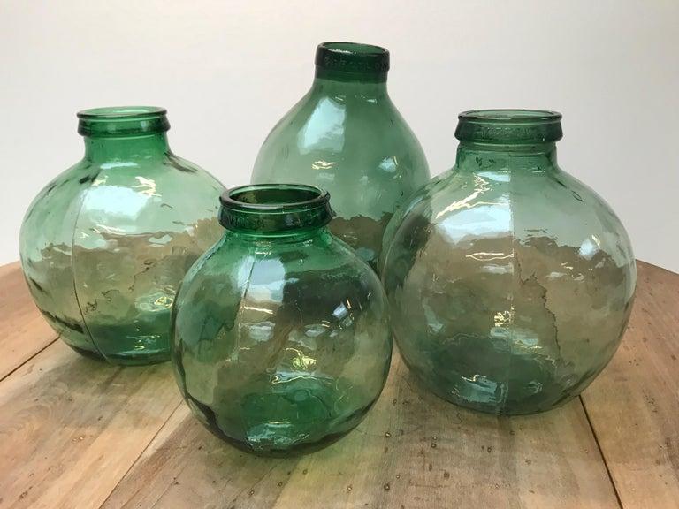 Spanish Set of Four Storage Jars For Sale