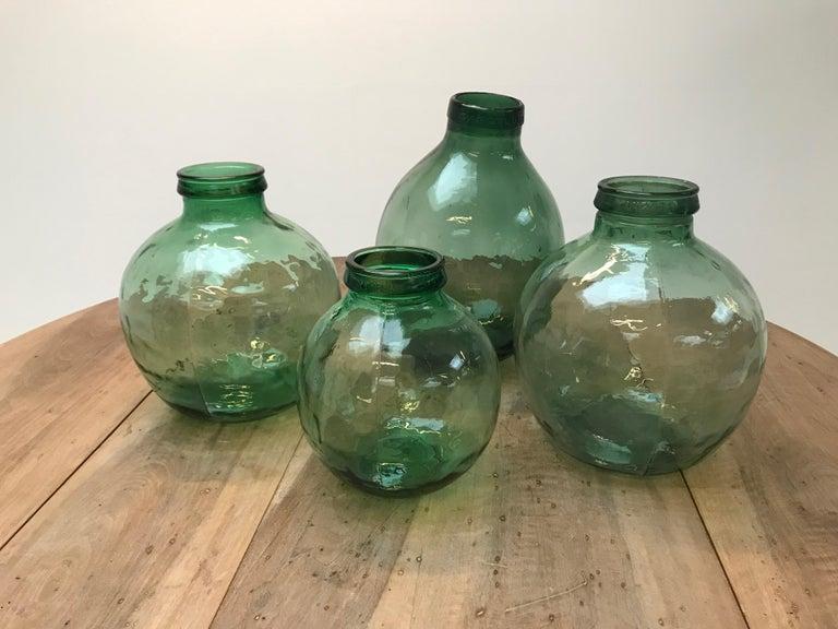 Polished Set of Four Storage Jars For Sale