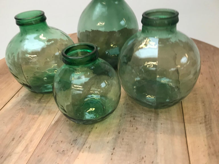 Set of Four Storage Jars In Excellent Condition For Sale In Schellebelle, BE