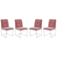 Set of Four Stunning Dining Chairs Designed by Cal-Style