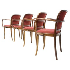 Set of Four Stylish Dining Chairs/ Ton, 1988