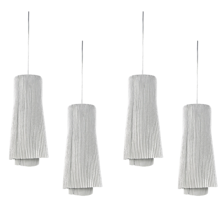 Set of Four Tempo Andante Pendant Lights
