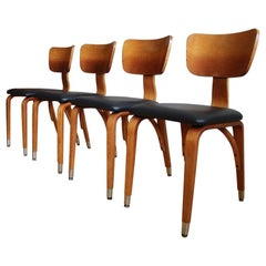 Set of Four Thonet Mid-Century Modern Dining Chairs