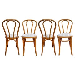 Set of Four Thonet No. 18 Bentwood Chairs