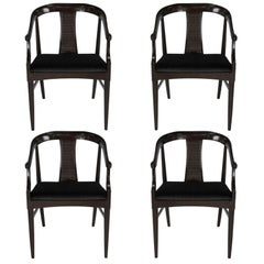 Set of Four Tomlinson Sophisticate Armchairs