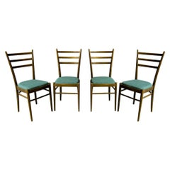 Set of Four Ton Dining Chairs, Czechoslovakia, 1960s