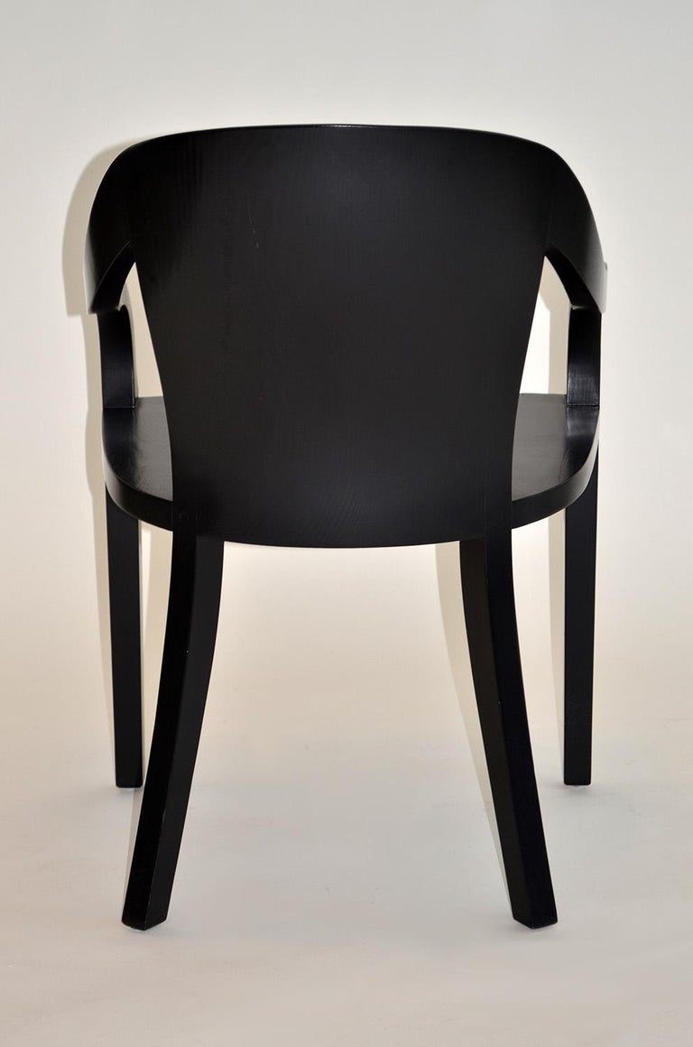 Outstanding Set Of Four University Chairs By Ward Bennett For Brickell Assoc Dailytribune Chair Design For Home Dailytribuneorg