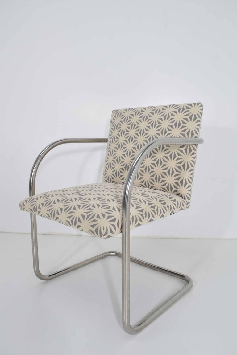 Set of Four Mies Van Der Rohe Brno Chairs by Knoll In Good Condition For Sale In Dallas, TX