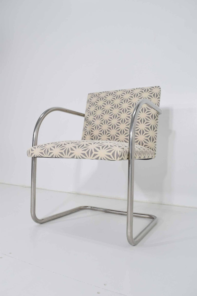 20th Century Set of Four Mies Van Der Rohe Brno Chairs by Knoll For Sale