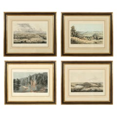 Set of Four Views of Virginia Prints
