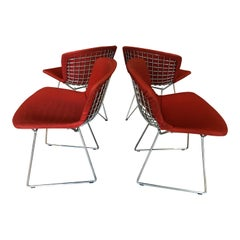 Set of Four Vintage Bertoia Chairs