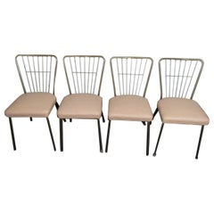 Set of Four Vintage Dining Room Chairs