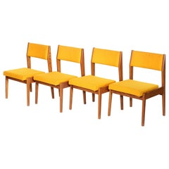 Set of Four Vintage Jens Risom Side Chairs