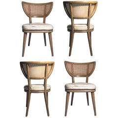 Set of Four Vintage William Haines Style Chairs