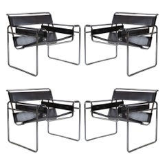 Set of Four Wassily Chairs
