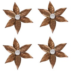 Set of Four Willy Daro Wall Lights