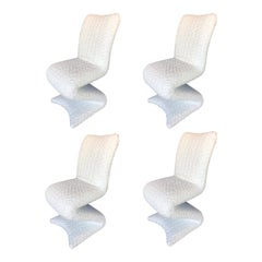 Set of Four Z Shaped Chairs