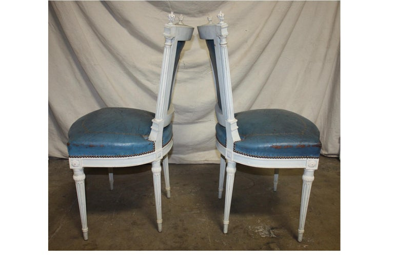 Set of French 19th Century Dining Room Chairs For Sale 8