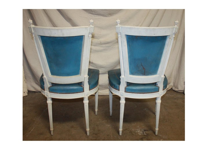 Set of French 19th Century Dining Room Chairs For Sale 9