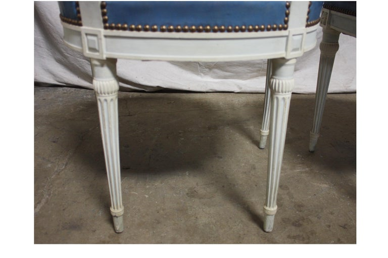 Set of French 19th Century Dining Room Chairs For Sale 10