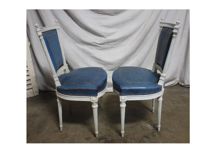 Set of French 19th Century Dining Room Chairs For Sale 11