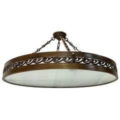 Set of French Bronze Neoclassic Light Fixtures