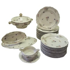 Set of French Limoges Dinnerware, 29 Pieces