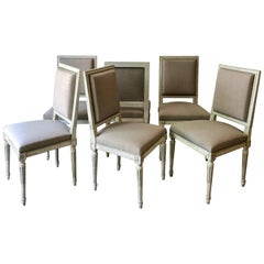 Set of French Louis XVI Style Chairs