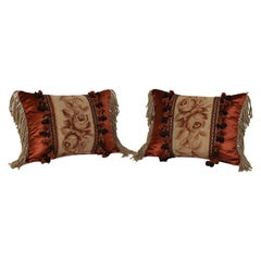 Set of Tapestry Custom Accent Pillows